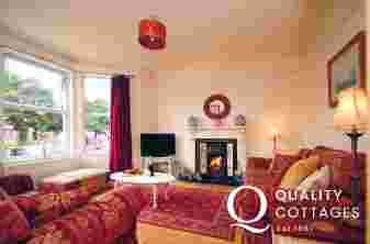 Coastal cottage Wales - lounge