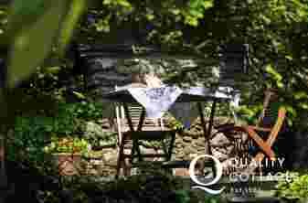 Llanrwst holiday cottage - garden