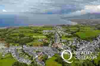 Llyn Peninsula holiday cottage location