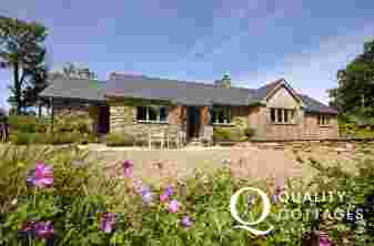 Pet friendly traditional Welsh cottage near Abermawr Beach