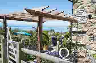 Luxury holiday cottage welsh coast - exterior