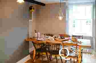 Cottage holiday Carmarthenshire - dining room