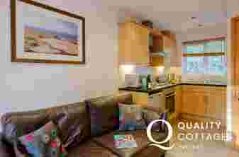 Gower dog friendly cottage holiday-lounge