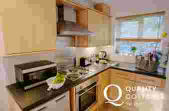 Gower dog friendly cottage holiday-kitchen