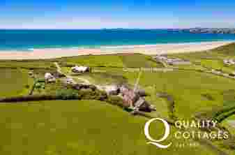 Holiday cottage Newgale location