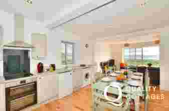 Llyn Peninsula holiday cottage - kitchen/diner