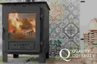 Anglesey holiday cottage - log burner