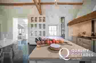 Luxury escape wales  - kitchen