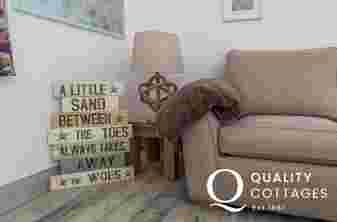 Lounge area comfy 2 seater sofa