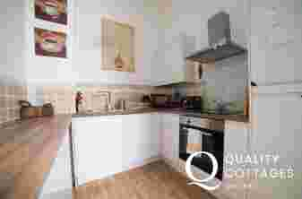 romantic cottage for 2 Wales - kitchen