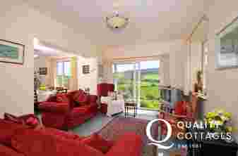 Presteigne holiday cottage - lounge