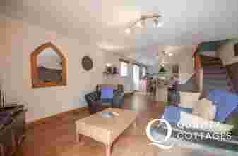 Snowdonia holiday cottage - lounge