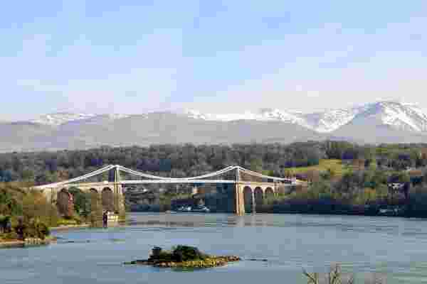 Menai Bridge & Strait