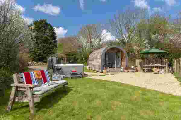 Glamping in Pembrokeshire