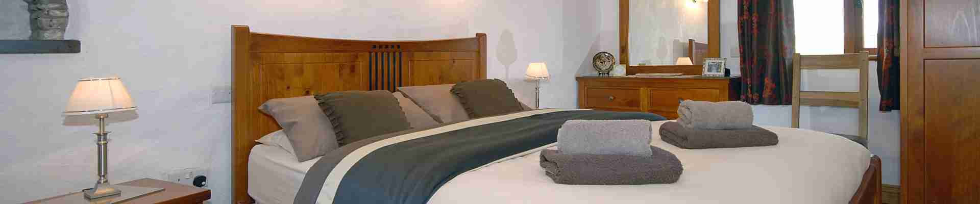 Holiday Cottages with at least One Ground Floor Bedroom & Bathroom