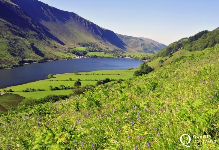 Tal y Llyn - Do take the steam train from Tywyn to Tal y Llyn Lake beneath the slopes of Cader Idris mountains