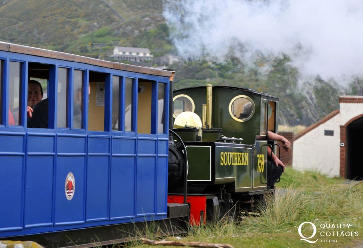 Fairbourne narrow gauge steam railway