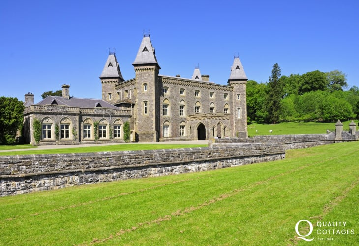 National Trust Property Newton House, Dinefwr Park. Experience Edwardian life below stairs and explore the romantic ruins of Dinefwr Castle, once home to the Welsh princes of Deheubarth