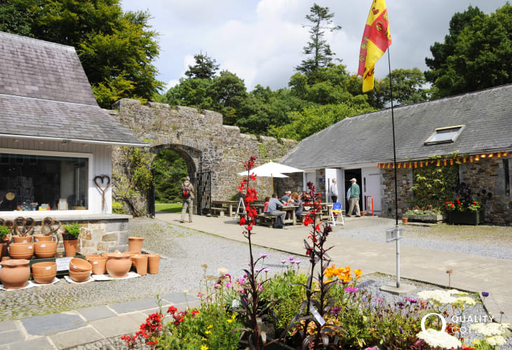 Picton Castle and Gardens offer guided tours of the 13th century castle along with a gift shop and excellent cafe in the courtyard
