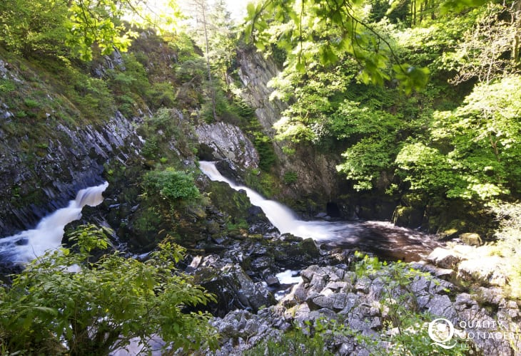 Conwy Falls - Woodland walks through picturesque countryside to the breathtaking falls