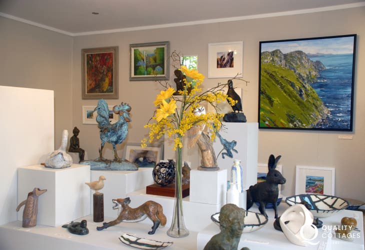 Do visit nearby Workshop Wales Gallery for some truly outstanding art and sculpture for sale