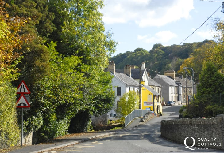 Lush Carmarthenshire - full of sleepy villages and quiet lanes