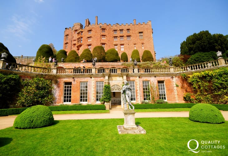Powis Castle (National Trust), a great place to spend the day all year around