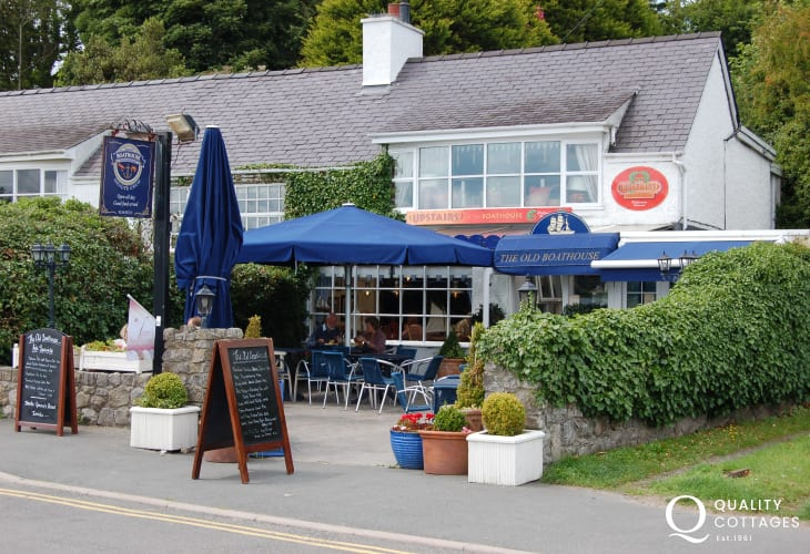 TTasty food at The Old Boathouse at Red Wharf Bay