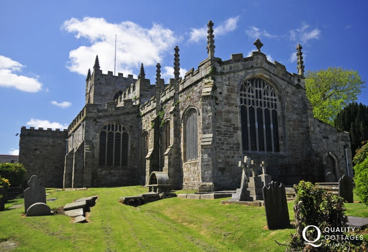 Beaumaris' Grade 1 listed Church of St Mary's & St Nicholas's