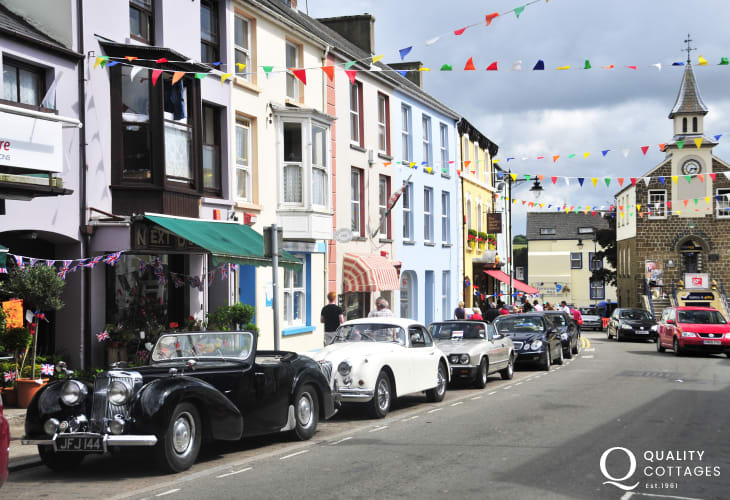 Narberth - a vibrant little market town