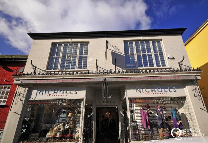 Browse Nicholls department stores in Crickhowell & Abergavenny