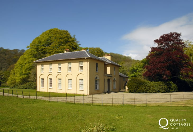 Llanerchaeon (N.T.) is an 18th C Welsh Gentry estate set in the heart of the beautiful Aeron Valley. Designed by John Nash, the house, walled gardens, lake and home farm offer a unique insight into life as it was 200 years ago