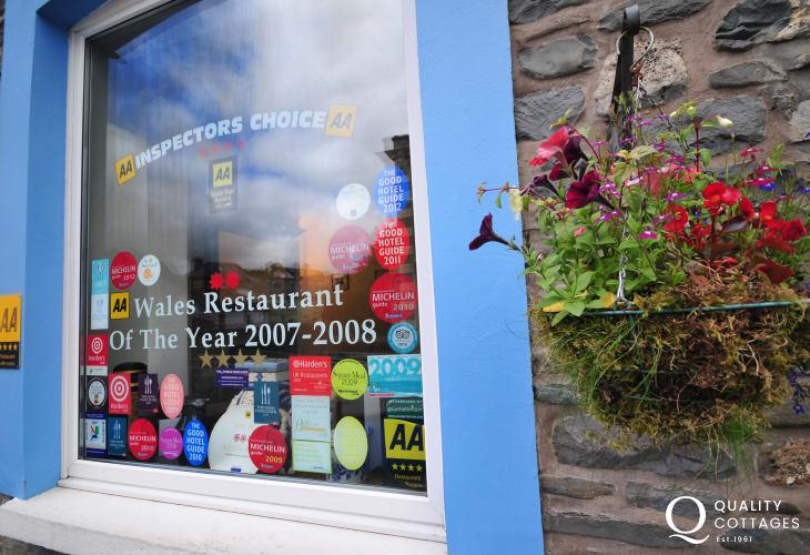 Choice of award winning restaurants in Llanwrtyd Wells
