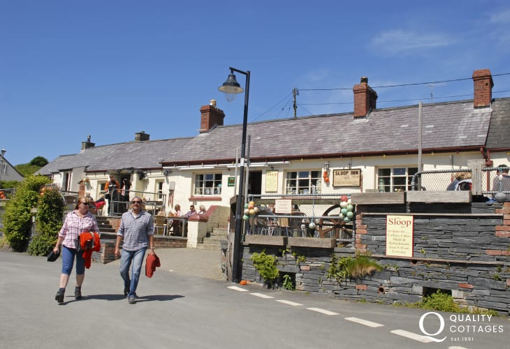 The Sloop Inn, Porthgain