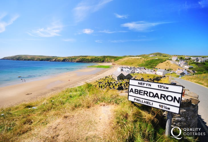 Aberdaron at the tip of the Lleyn Peninsula