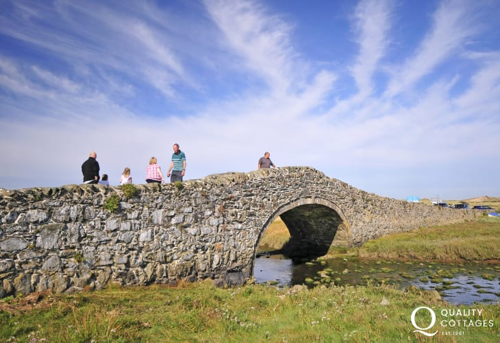 Aberffraw bridge, a troll free zone!