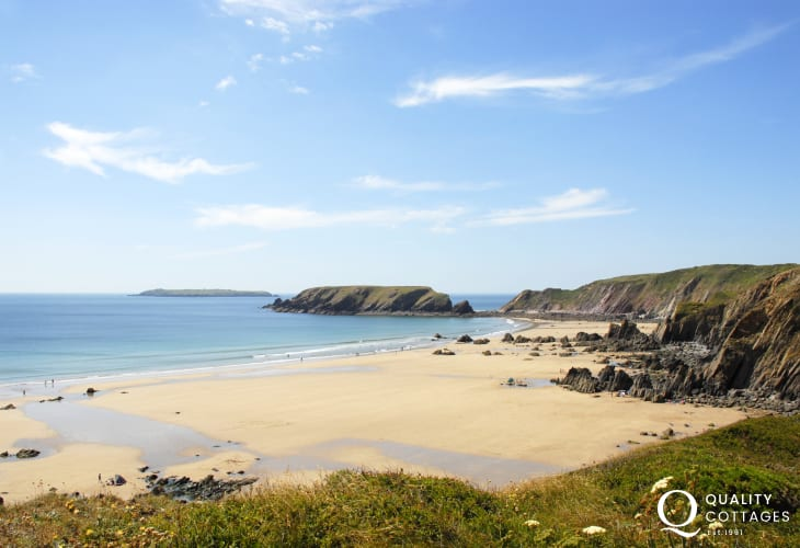 Marloes Sands is one of the Pembrokeshire Coast's most popular beaches
