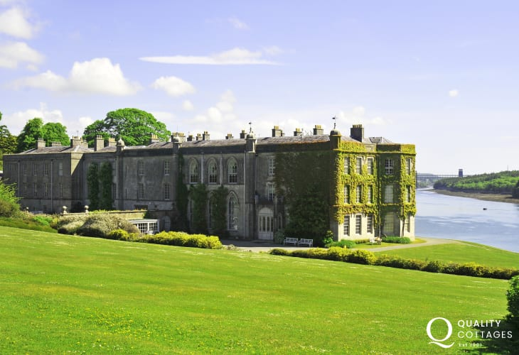 National Trust Plas Newydd, explore the gardens and take in the incredible views of the Menai Strait