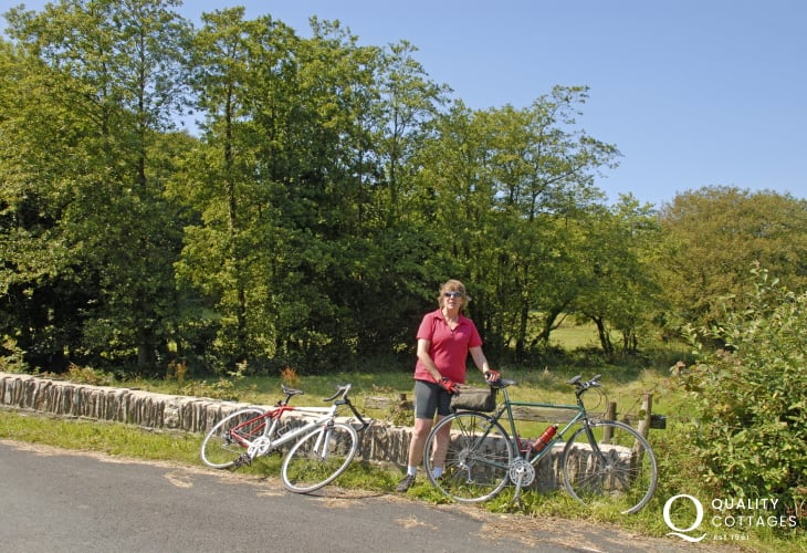 The Preseli's gentle rolling hills, wooded lanes and bridleways can be explored on foot or by bicycle