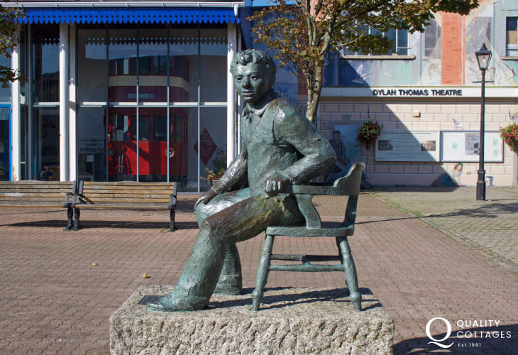 Swansea is the birthplace of Dylan Thomas. Visit the Dylan Thomas Centre and Swansea Marina for an action packed day, great for all the family