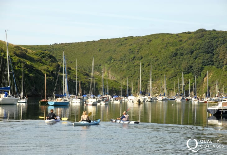 Solva - a pretty waterside village with a picturesque harbour and a variety of places to eat and drink