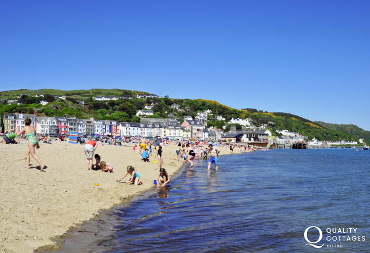 The lovely seaside town of Aberdovey