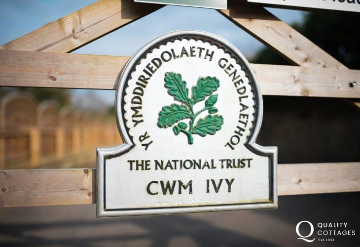 Start at Cwm Ivy (National Trust) car park and enjoy a delightful three hour walk.