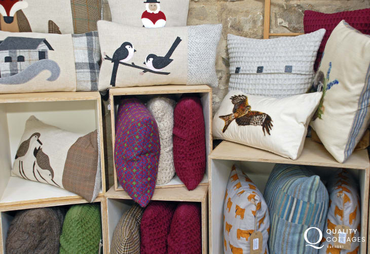Solva Woollen Mill for beautifully crafted Welsh products