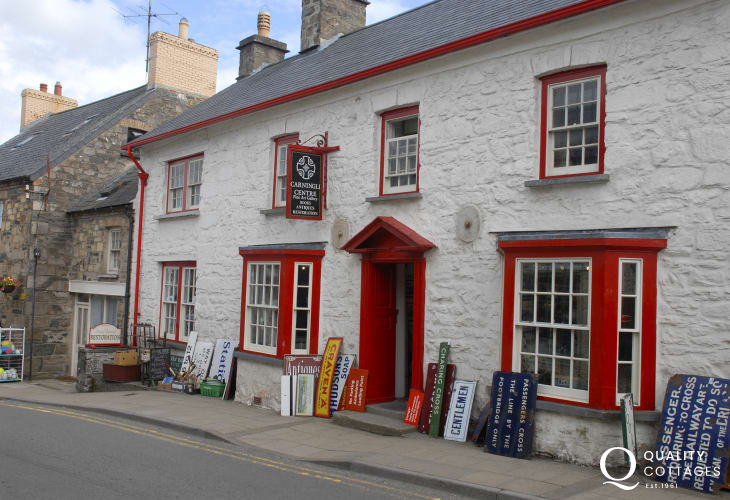 Visit the Carningli Antique Centre for all sorts of fascinating memorabilia