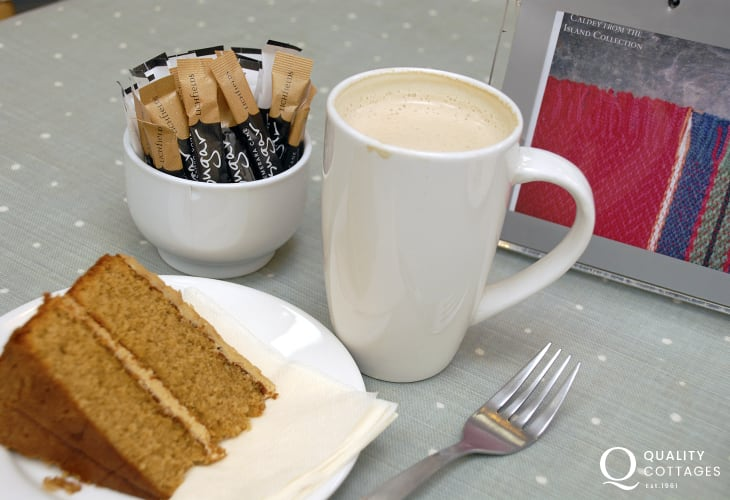 'The Dye Shed Cafe' at Solva Mill - delicious homemade cakes served with a very warm welcome