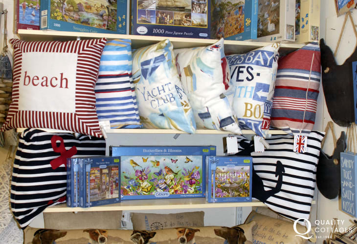 'Window on Wales' - a gem of a little shop for all kinds of holiday souvenirs in Solva
