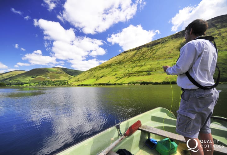 Enjoy a days fishing on Talyllyn lake