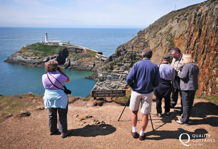 South Stack, fabulous coastal walks and sightings of rare seabirds