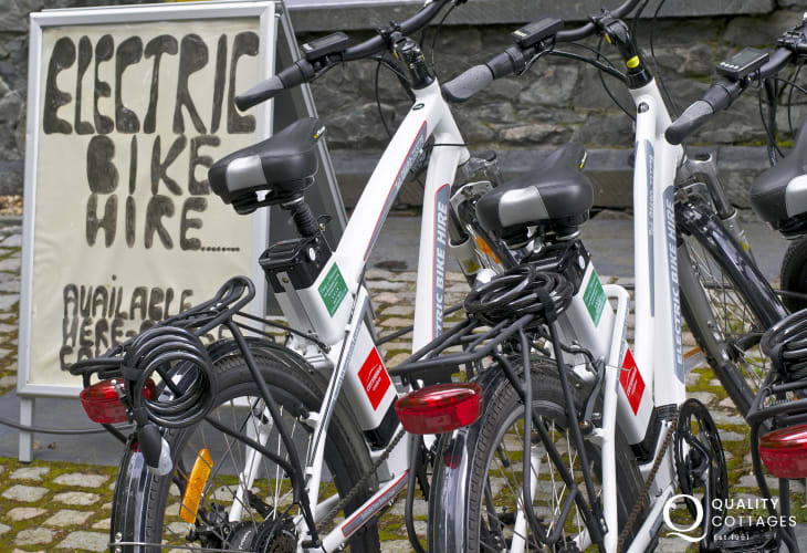 Explore Betws y Coed electric bike hire
